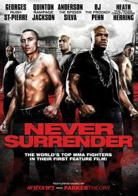 Never Surrender (2009) plakat