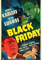 plakat - Black Friday (1940)
