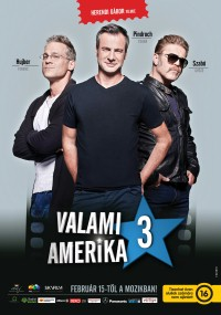 Valami Amerika 3 (2018) plakat