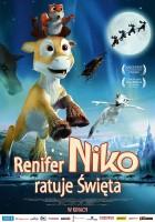plakat - Renifer Niko ratuje Święta (2008)