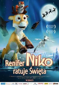 Renifer Niko ratuje Święta (2008) plakat