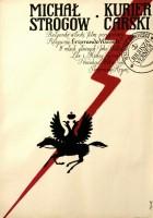 plakat - Michał Strogoff - kurier carski (1970)