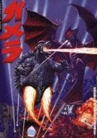 Gamera daikaijû kuchu kessen (1995) plakat