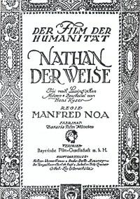 Natan mędrzec (1922) plakat