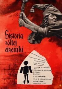 Historia żółtej ciżemki (1961) plakat