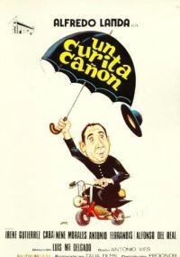 Un Curita cañón (1974) plakat