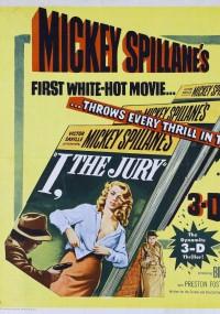 I, the Jury (1953) plakat