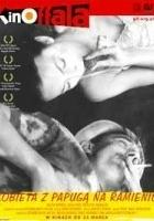 Kobieta z papugą na ramieniu (2002) plakat