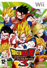 Dragon Ball Z: Budokai Tenkaichi 3 (2007) plakat