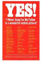 Nigdy nie śpiewałem dla mojego ojca