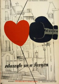 Zdarzyło się w Paryżu (1954) plakat