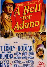 A Bell for Adano (1945) plakat