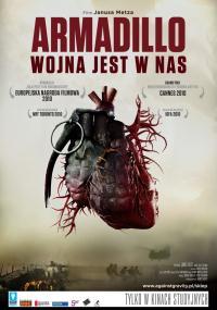 Armadillo - wojna jest w nas (2010) plakat