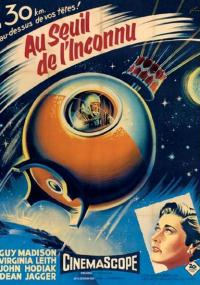 On the Threshold of Space (1956) plakat