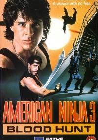 Amerykański ninja 3 (1989) plakat