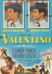 Valentino (1951) plakat