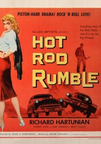 Hot Rod Rumble (1957) plakat