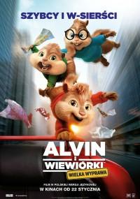 Alvin i wiewiórki: Wielka wyprawa (2015) plakat