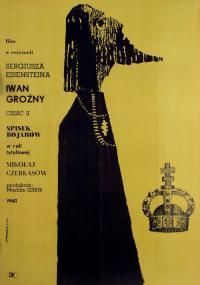 Iwan Groźny: Spisek bojarów (1945) plakat