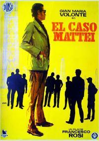 Sprawa Mattei (1972) plakat