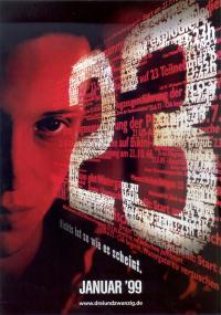 23 (1998) plakat