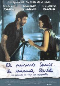 Ta sama miłość, ten sam deszcz (1999) plakat