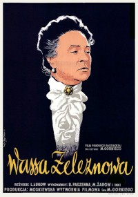 Wassa Żeleznowa (1953) plakat