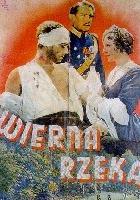 Wierna rzeka (1936) plakat