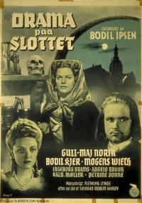 Drama på slottet (1943) plakat