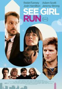 Uciekająca dziewczyna (2012) plakat