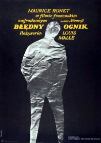 Błędny ognik (1963) plakat