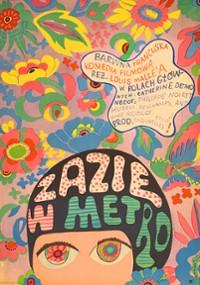 Zazie w metrze (1960) plakat