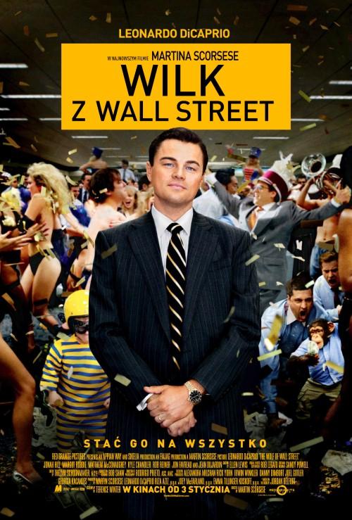 Wilk z Wall Street Poster