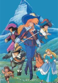 Anime Sanjushi (1987) plakat