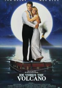 Joe kontra wulkan (1990) plakat