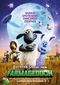 Baranek Shaun Film. Farmageddon (2019) plakat