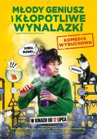 Młody geniusz i kłopotliwe wynalazki (2018) plakat