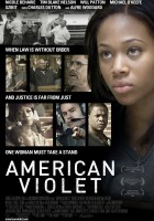 plakat - American Violet (2008)