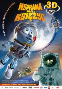 Wyprawa na Księżyc 3D (2008) plakat