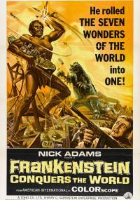 Furankenshutain tai chitei kaijû Baragon (1965) plakat