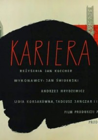 Kariera (1954) plakat