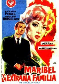 Maribel y la extraña familia (1960) plakat