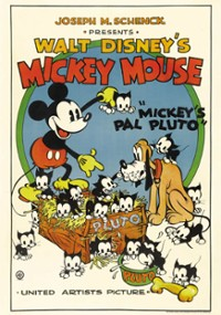 Pies Pluto kumplem Myszki Miki