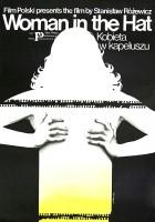 plakat - Kobieta w kapeluszu (1984)