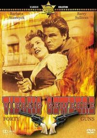 Czterdzieści rewolwerów (1957) plakat