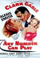 Any Number Can Play (1949) plakat