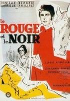 plakat - Czerwone i czarne (1954)