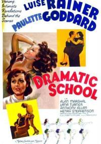 Dramatic School (1938) plakat