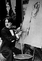 Charlie jako malarz