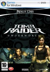 Tomb Raider: Underworld (2008) plakat